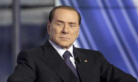 Italy's former Prime Minister Silvio Berlusconi appears as a guest on the RAI television show Porta a Porta (Door to Door) in Rome January 9, 2013. Foto: Remo Casilli / Reuters