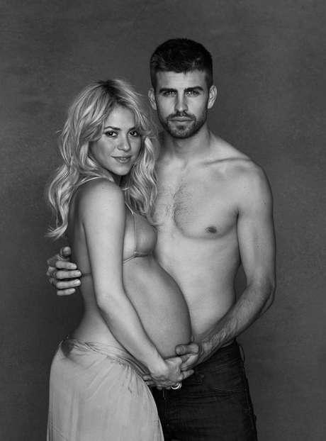 Shakira y Piqué ya son padres. Foto: Cortesía de Shakira / AP