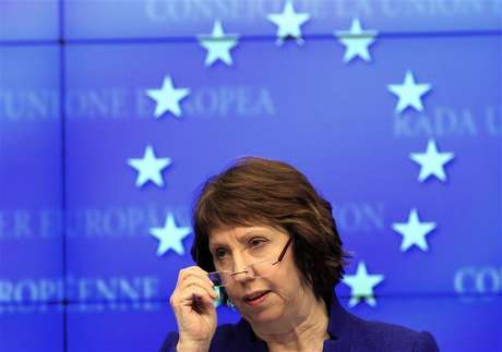 EU foreign policy chief Catherine Ashton holds a news conference after an European Union emergency foreign ministers meeting to discuss the crisis in Mali January 17, 2013. Foto: Yves Herman / Reuters