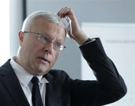 Alexander Lebedev, chairman of Russia's National Reserve Corporation, attends an interview with Reuters journalists in Moscow September 25, 2012. Foto: Maxim Shemetov / Reuters