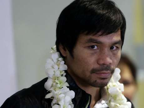 Pacquiao ya no pelearía en Estados Unidos debido a los altos impuestos que le cobran. Foto: AP
