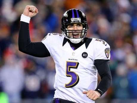 El mariscal Joe Flacco espera ganar si primer anillo de Super Bowl. Foto: Terra