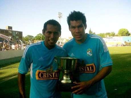 Rengifo anotó los dos goles de la victoria celeste Foto: Facebook Sporting Cristal
