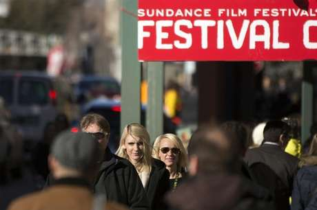 Pedestrians walk down Main street during the Sundance Film Festival in Park City, Utah, January 20, 2013. Foto: Lucas Jackson / Reuters