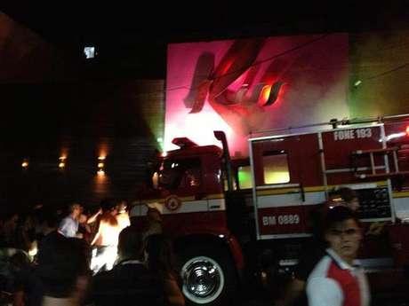 Imágenes del incendio de la discoteca Kiss en Santa María (Brasil) Foto: Terra