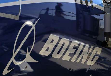 The Boeing logo is seen on a Boeing 787 Dreamliner airplane in Long Beach, California March 14, 2012. Foto: Lucy Nicholson / Reuters