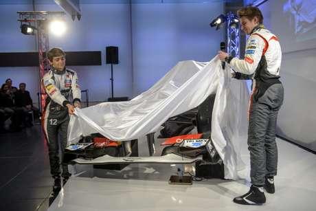 Sauber presenta el C32 con una evolución en el diseño y dos nuevos pilotos Foto: Getty Images