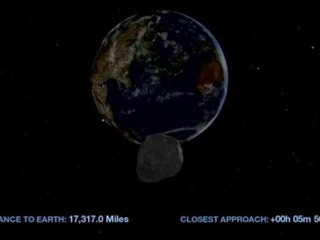 """""""La Nasa puede prever con precisión el camino del asteroide con las observaciones hechas y es posible afirmar que no hay chance de que el asteroide entre en ruta de colisión con la Tierra"""", informó la agencia espacial. Foto: Reproducción Nasa"""