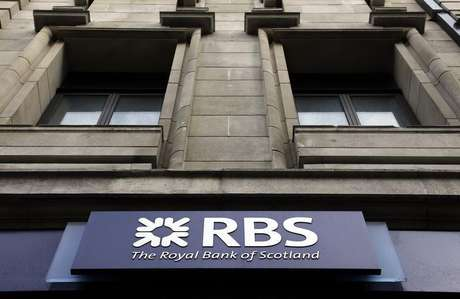 A logo of an Royal Bank of Scotland (RBS) is seen at a branch in London February 23, 2012. Foto: Stefan Wermuth / Reuters