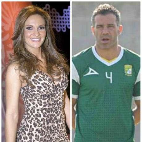 Foto: Mariana Seoane y el futbolista Óscar Mascorro son novios / Mezcalent - Club León / Terra