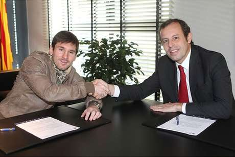 Messi has renewed his contract with Barcelona. Foto: as.com