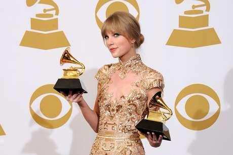 Taylor Swift se presentará este domingo en la ceremonia de entrega de los Premios Grammy, donde figura con dos nominaciones.  Foto: Getty Images