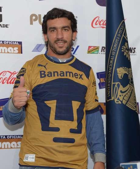 Juan Pablo Rodríguez listo para el debut con Pumas. Foto: Mexsport