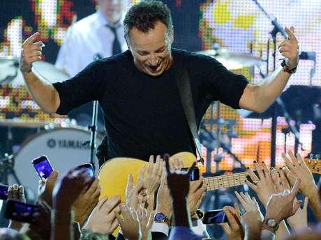 Bruce Springsteen también fue elogiado por su labor filantrópica. Foto: Getty Images