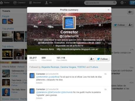 Aunque son argentinos, es frecuente que corrijan errores de usuarios en otros países. Foto: Reproducción