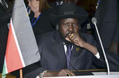 South Sudan's President Salva Kiir attends the opening ceremony of the 20th Ordinary Session of the Assembly of Heads of State and Governments at the African Union (AU) headquarters in the Ethiopian capital Addis Ababa January 27, 2013. Foto: Tiksa Negeri / Reuters