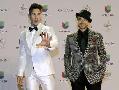 El dúo venezolano Chino y Nacho Foto: Alan Díaz / AP
