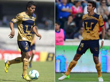 Javier Cortés con 16 goles y Eduardo Herrera con 10, son las promesas en la ofensiva de las fuerzas básicas de Pumas. Foto: Especial