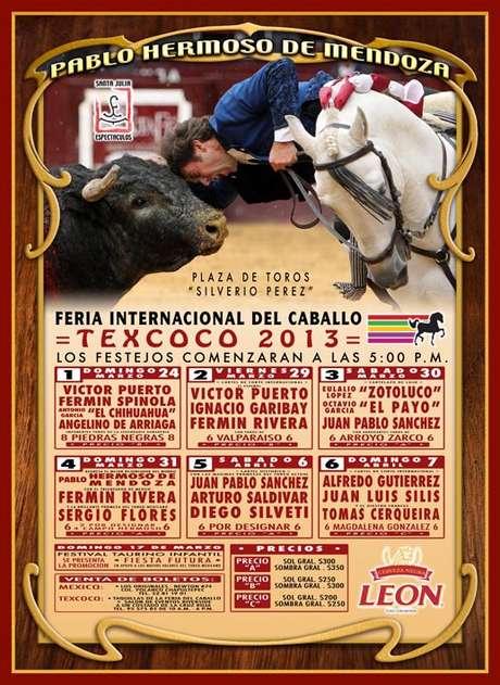 Cartel oficial de la Ferie de Texcoco 2013 Foto: Feria de Texcoco 2013