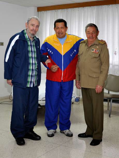 La muerte de Chávez significa para Cuba la pérdida de un aliado político. Foto: AFP