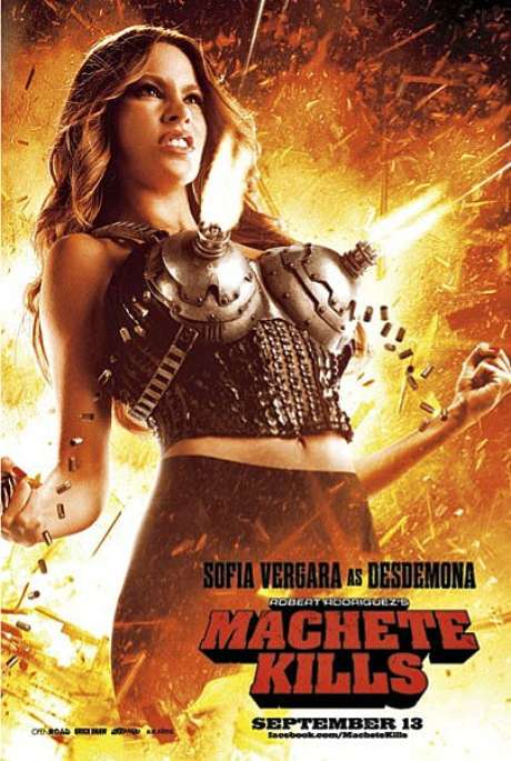 Sofía Vergara en 'Machete Kills' Foto: 20th Century Fox