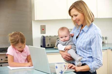 Es indudable que una madre en activo necesita mucho talento organizativo. Foto: Getty Images