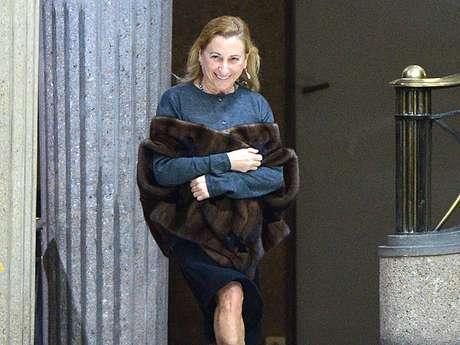 Miuccia Prada, de los Prada de la industria de la moda, es una de las mujeres más ricas del planeta. Foto: AFP
