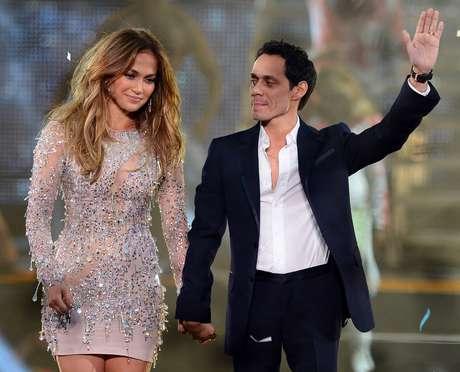 JLo y Marc Anthony compiten con sus nuevos amores Foto: Getty Images