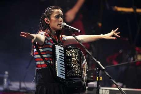 Julieta Venegas promociona su más reciente trabajo titulado 'Los Momentos'. Foto: Reproducción