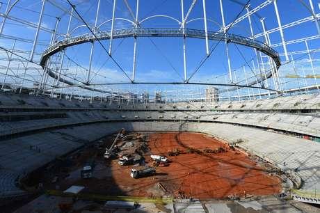 Una panorámica de la Arena Fonte Nova Salvador. Foto: Getty Images