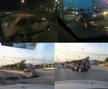 Usuarios de redes sociales compartieron el domingo testimonios de lo ocurrido tras la refirega en Reynosa, Tamaulipas. Foto: Tomada de Twitter