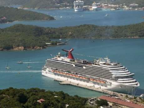 El crucero Dreamperteneciente a Carnival, la mayor operadora de cruceros del mundo. Foto: AP
