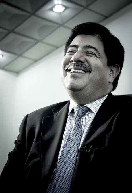 Luis Bedoya, Presidente de la Federación Colombiana de Fútbol habló en exclusiva con Terra Colombia Foto: David Felipe Rincón / Terra