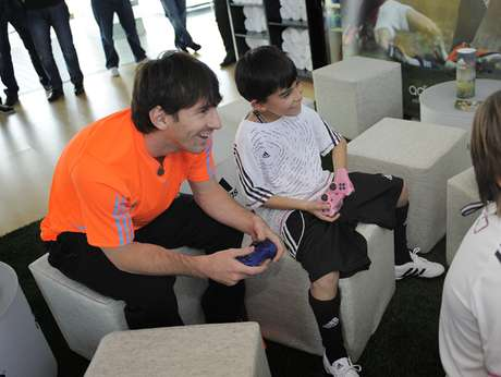 Messi likes to play anonymously. Foto: Getty Images