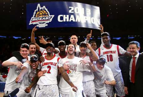 Big East Conference champions Louisville are the overall number 1 seed of the NCAA tournament. Foto: Getty