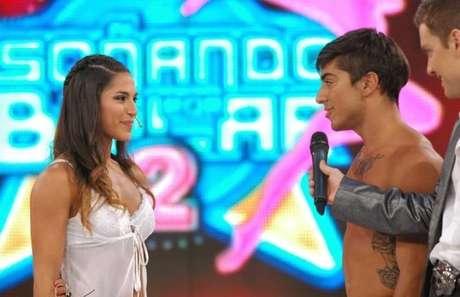 """Yana y Augusto se comprometieron al aire en el """"Soñando"""". Foto: Ideas del Sur"""