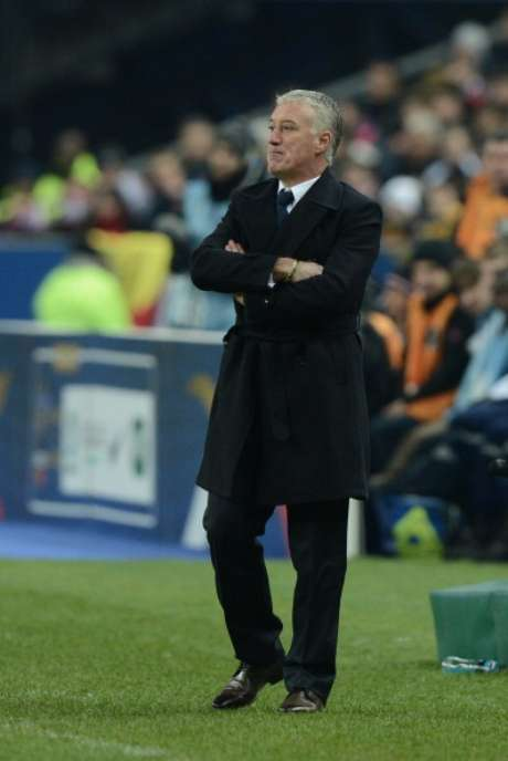 Didier Deschamps, durante el partido ante España Foto: Getty Images