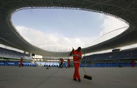 El estadio Olímpico de Río ha sido clausurado hasta que las fallas sean arregladas. Foto: AP