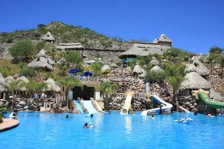 Otra de las atracciones turísticas en Hidalgo es El Geiser, en Tecozautla. Foto: Turismo de Hidalgo