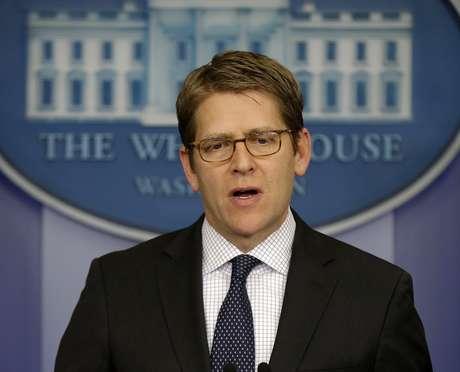 En Washington, el portavoz de la Casa Blanca Jay Carney afirmó el viernes que un eventual disparo de misil norcoreano no sorprendería al gobierno estadounidense. Foto: AP
