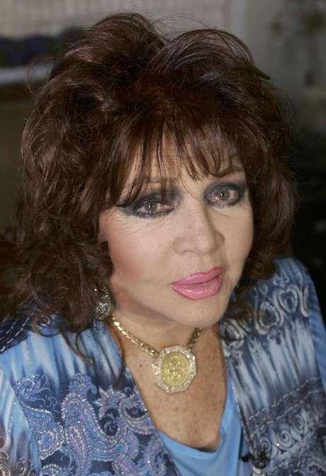 Sara Montiel, la artista, un mito del cine para toda una generación de españoles, falleció el 8 de abril de 2013. Tenía 85 años. Foto: Wilfredo Lee / AP