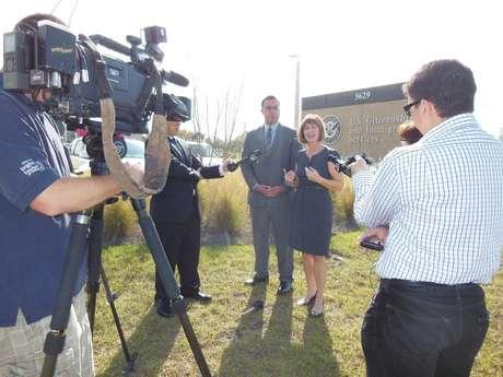 La representante de Florida, Kathy Castor, ha apoyado a José Manuel Godinez-Samperio durante el proceso. Foto: Facebook