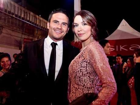 Juan Pablo Raba y Mónica Fonseca en la edición 2012 de los premios. Foto: Archivo Terra