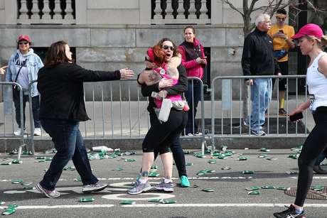 Hasta el momento se contabilizan dos personas fallecidas a causa de las explosiones en Boston.  Foto: Getty Images