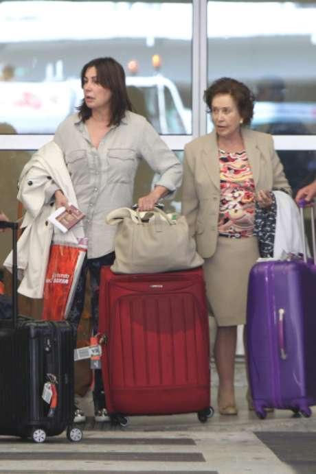 Carmen Martínez-Bordiú y Carmen Franco Foto: Gtres