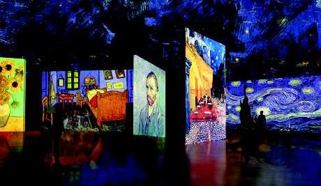 La muestra multimedial Van Gogh Alive ha sido vista por más de un millón de personas. Foto: Gentileza