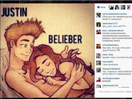 Diversos sitios de entretenimiento cuestionan el fin de Justin Bieber por compartir dicha imagen. Foto: Instagram