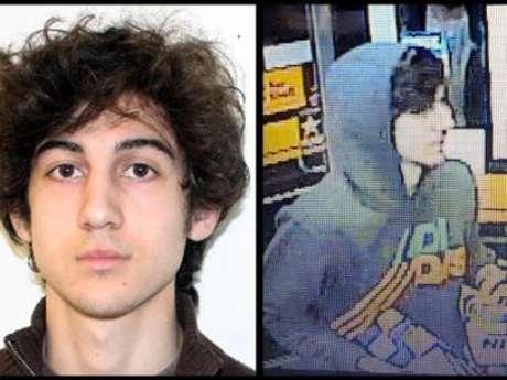Dzhokhor Tsarnaev, de 19 años, ha sido buscado desde la madrgada del jueves.  Foto: AP