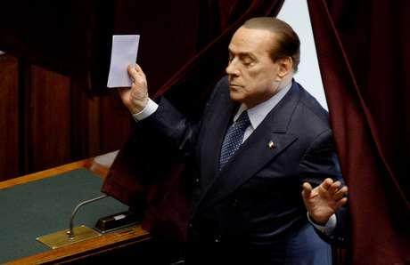 El líder de centroderecha, Silvio Berlusconi Foto: AFP