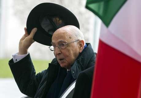 Giorgio Napolitano Foto: Reuters en español